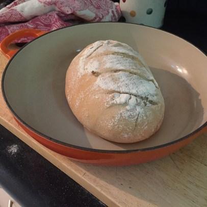 Week 1 - small sourdough loaf...