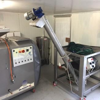 freshfield grove olive harvest 2017 pressing room