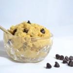 Chocolate Chip Cookie Dough Dip [GF, low calorie]