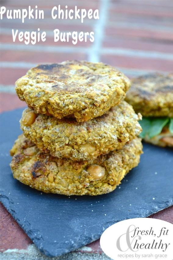 veggie burgers recipe