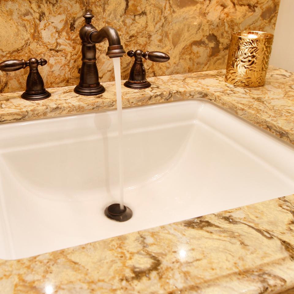 Elegant Guest Bathroom