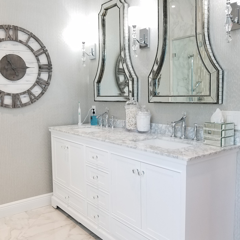 Chic Master Bathroom