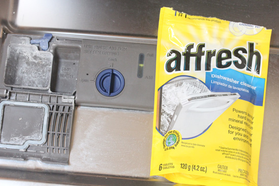 Affresh comes to the rescue of my dishwasher!  Thank you Affresh!