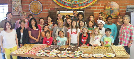 Our 2015 Holiday Cookie Baking team.