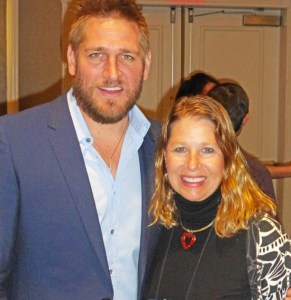 Meeting Curtis Stone again at the IACP Conference.