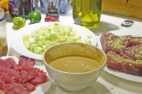 Red Tuna in Tahiti and French Polynesia. Recipes on FreshFoodinaFlash.com