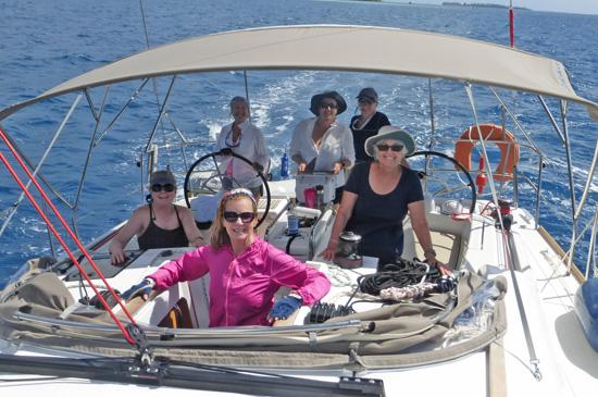 Tahiti and French Polynesia sailboat trip.  More on FreshFoodinaFlash.com