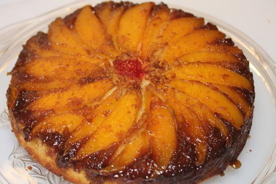 Mango Upside Down Cake recipe at FreshFoodinaFlash.com