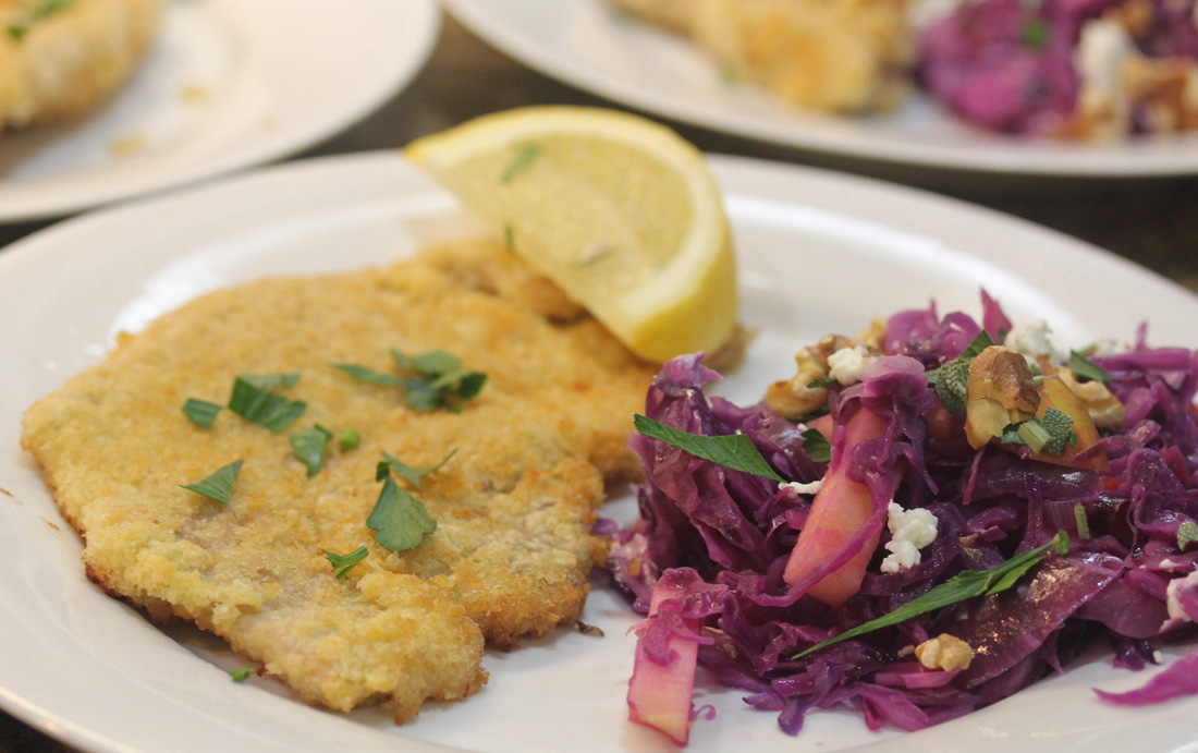 Wiener Schnitzel recipe at FreshFoodinaFlash.com