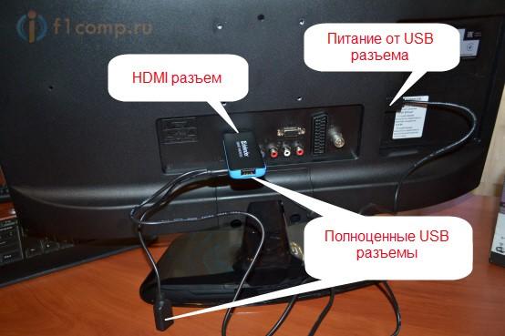 كيفية توصيل محرك أقراص فلاش إلى التلفزيون