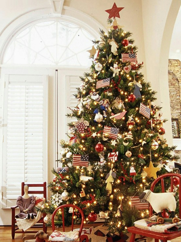 Better Homes Christmas Tree Decorating Ideas