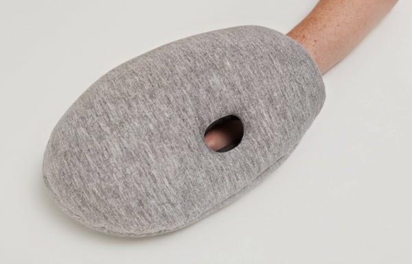reisekissen ostrich pillow fur ein