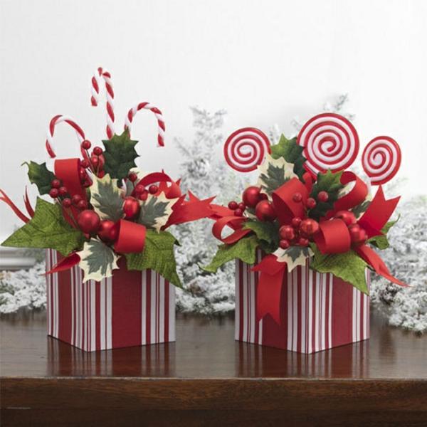 ▷ 1001+ Ideen - neue Weihnachtsgestecke selber machen