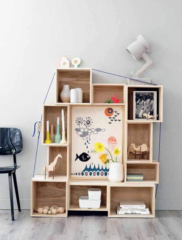 Holzregal bauen oder einfach kaufen – verschiedene Holzmöbel-Modelle