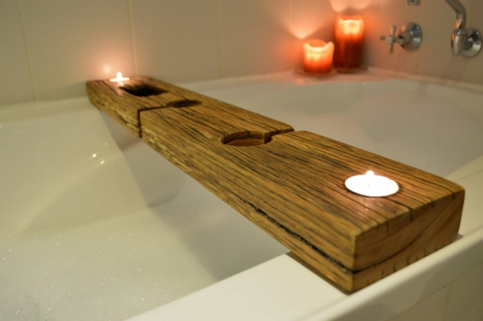 Badewannenablage 13 Beispiele Fr Moderne Badeinrichtung