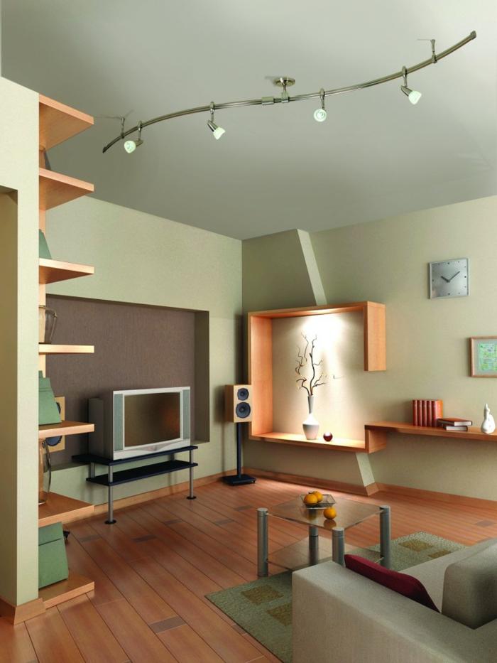 Deckenbeleuchtung Wohnzimmer Sollten Es Decken Einbau