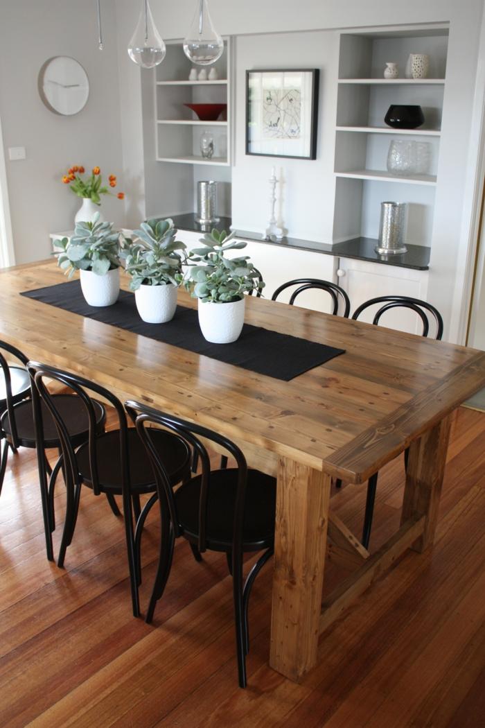 Rustikale Tische Sind Eine Originelle Lsung Fr Das
