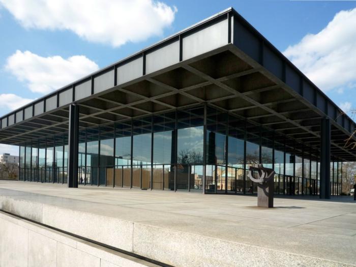 Column Rohe Der Plan Steel Van Mies