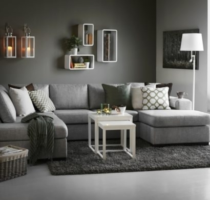 images for wohnzimmer grau