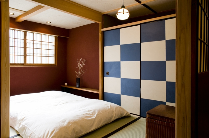 Lit Futon Pour Une Chambre 224 Coucher De Style Japonais