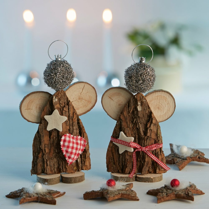Decoration De Noel En Bois A Faire Soi Meme Amazing Deco