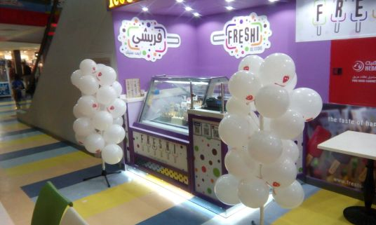 Freshi Ice Sticks Shop at Souq Hijaz Mall Makkah