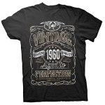 60th Birthday Gift Shirt - Vintage Aged to Perfection 1960