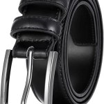 Marino's Men Genuine Leather Dress Belt with Single Prong Buckle Amazon Shopping in 2020