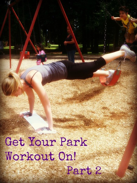 Park Workout Part 2 10 Minute Circuit Using Just A Swing