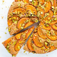 Healthy Apricot Snack Cake (paleo, nut free)