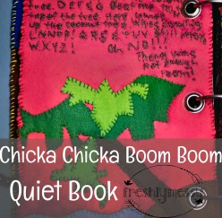 c is for chicka chicka quiet book