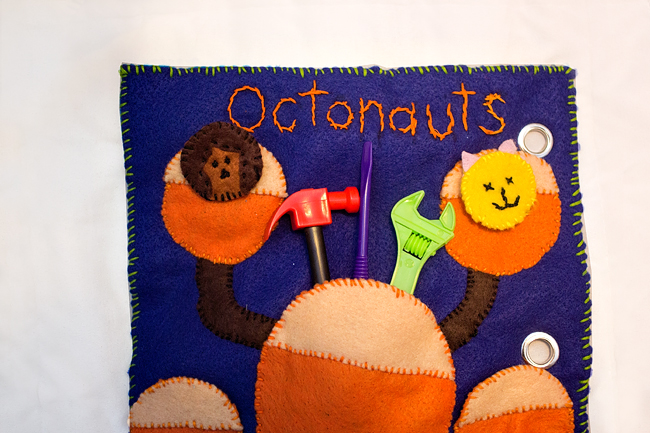o is for octonauts quiet book 2