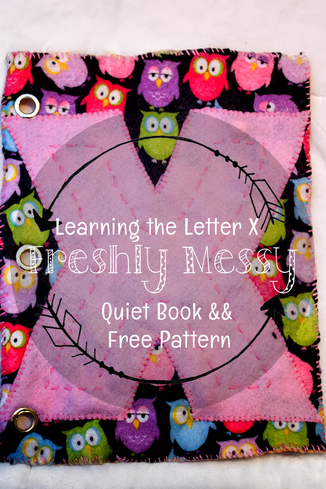 Learning the Letter X on a Quiet Book Page