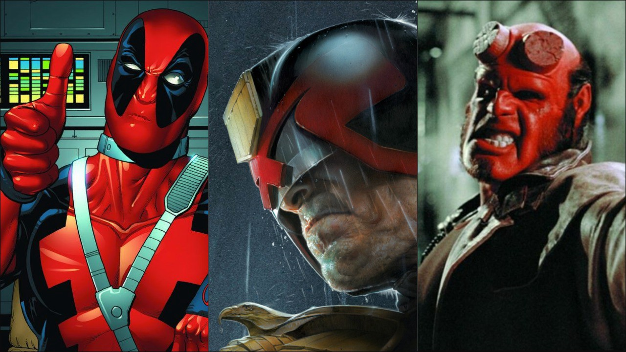 New Deadpool, Judge Dredd, and (Sadly) Hellboy Projects Are Incoming