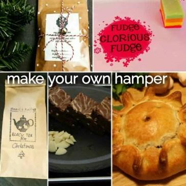 make your own christmas hamper gift set