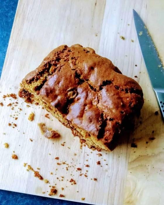 spiced loaf cake