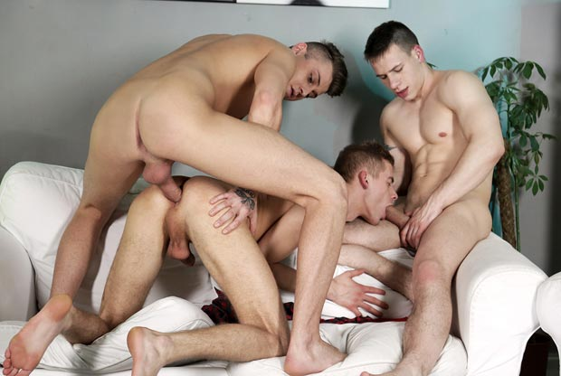 Dick Casey Gay Sex Threesome