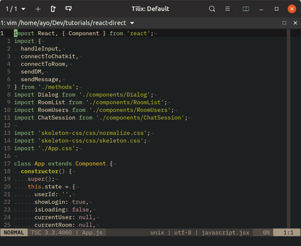 A guide to setting up Vim for JavaScript development