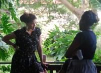 Resident artist at Fresh Milk Alberta Whittle, in conversation with Versia Harris