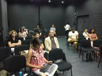 Group at Panel