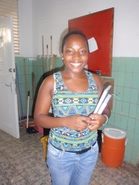 IBB student and assistant for the collaboration, Tamika Lont