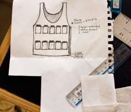 Sketch of Vest