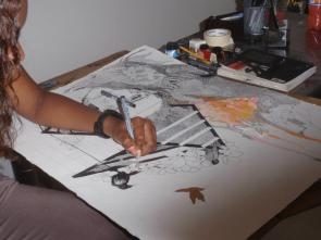 Simone's drawing
