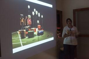 Katherine Kennedy presenting at FRESH MILK XVII