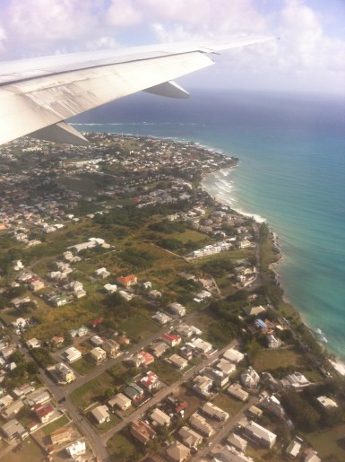 View from the flight.