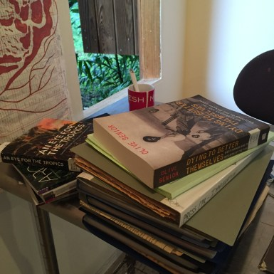 A small selection from the reading room