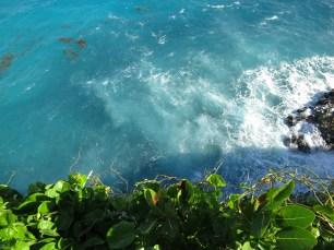 The roaring Atlantic Ocean