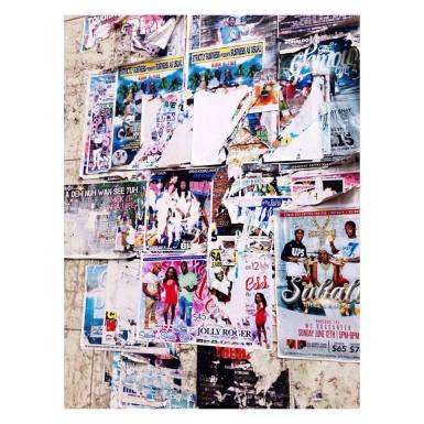 Posters in Bridgetown