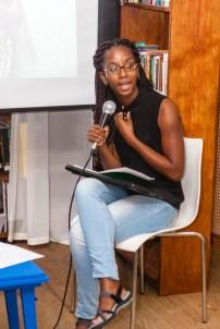 Anisah Wood presenting at FRESH MILK XIX
