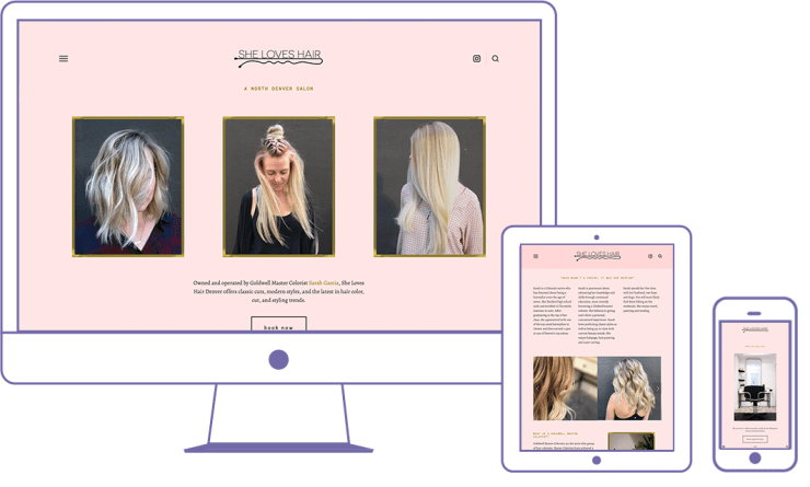 hair-salon-website